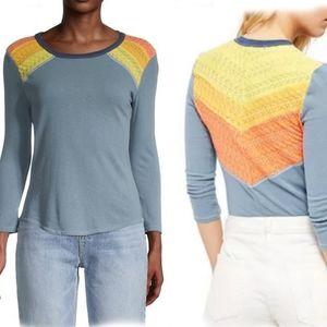 NWT 🔥People Rainbow top shirt